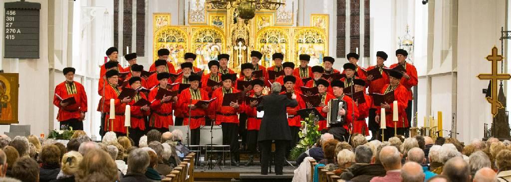 Zaterdag 30 september, medewerking Ikonenwijding, Peperbuskerk, Zwolle